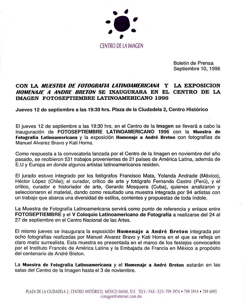 1996_Muestra-Latinoamericana_Centro-De-La-Imagen_02