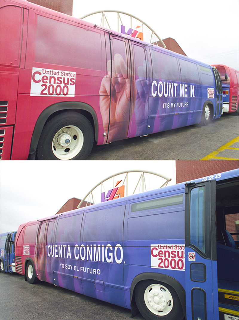 2000_Census-Buses_VIA-Parking-Lot