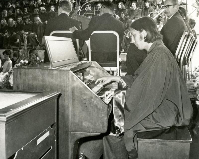 1970_Michael-Mehl_Graduation-Organ-Concert