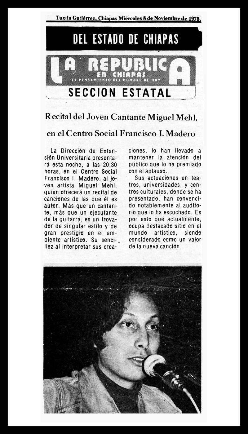 1978_La-Republica-En-Chiapas_Michael-Mehl_Centro-Social-Madero-Concert