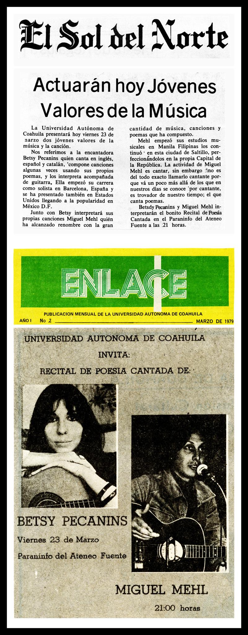 1979_El-Sol-Del-Norte_Enlace_Michael-Mehl_Betsy-Pecanins_Ateneo-Concert