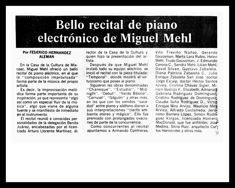 1980_El-Heraldo_Michael-Mehl_Casa-De-Cultura-Mixcoac-Concert