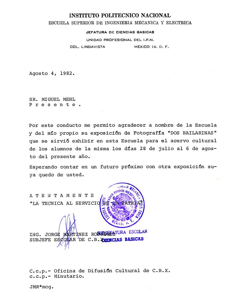 1982_Michael-Mehl_Dos-Bailarinas-Exhibit_Instituto-Politecnico-Nacional