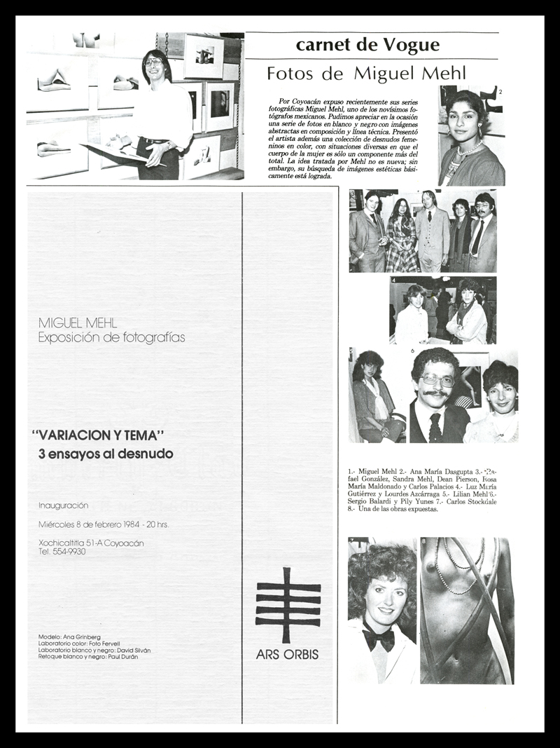 1984_Vogue-De-Mexico_Michael-Mehl_Variacion-Y-Tema-Exhibit
