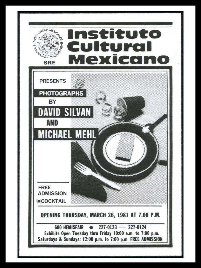 1987_Michael-Mehl-&-David-Silvan_Polyhymnia-Exhibit_Ad