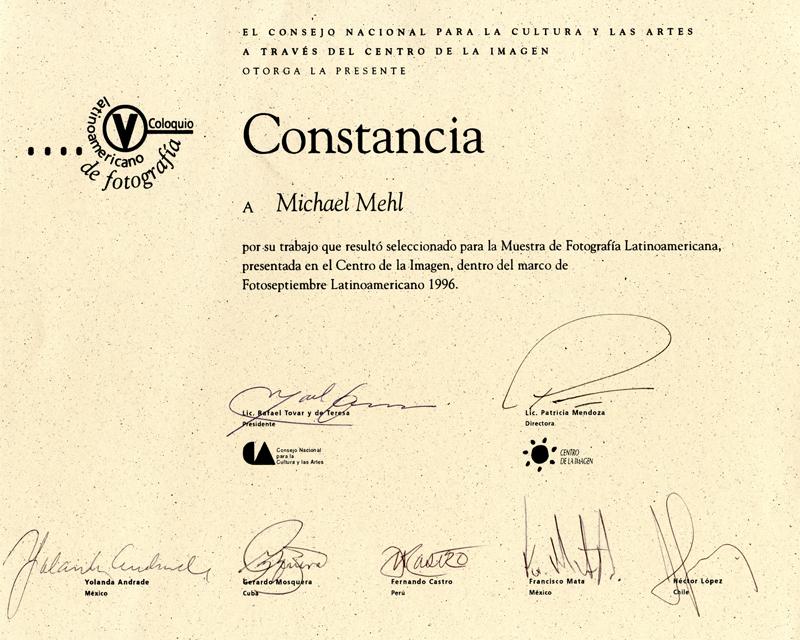 1996_Michael-Mehl_Muestra-Latinoamericana_Centro-De-La-Imagen