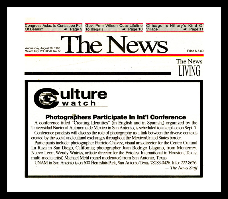 1996_The-News_Michael-Mehl_Creating-Identities