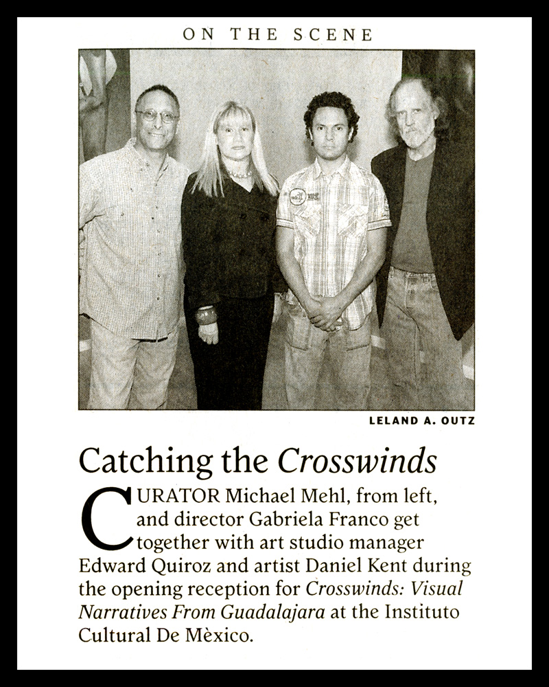 2011_Michael-Mehl_Curator_Crosswinds-Exhibit_On-The-Scene_SA-Express-News