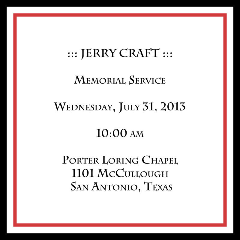 Jerry-Craft_Memorial-Service