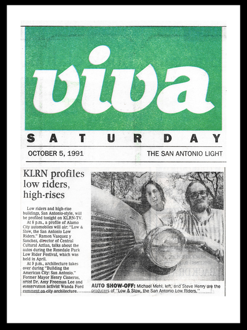 1991_Michael-Mehl_Viva-San-Antonio-Light_Low-&-Slow-On-KLRN-TV