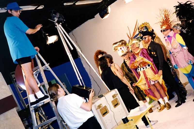1994_Michael-Mehl_Corny-Rap-Music-Video_Director-At-Work_Maverick-Studios_San-Antonio-TX