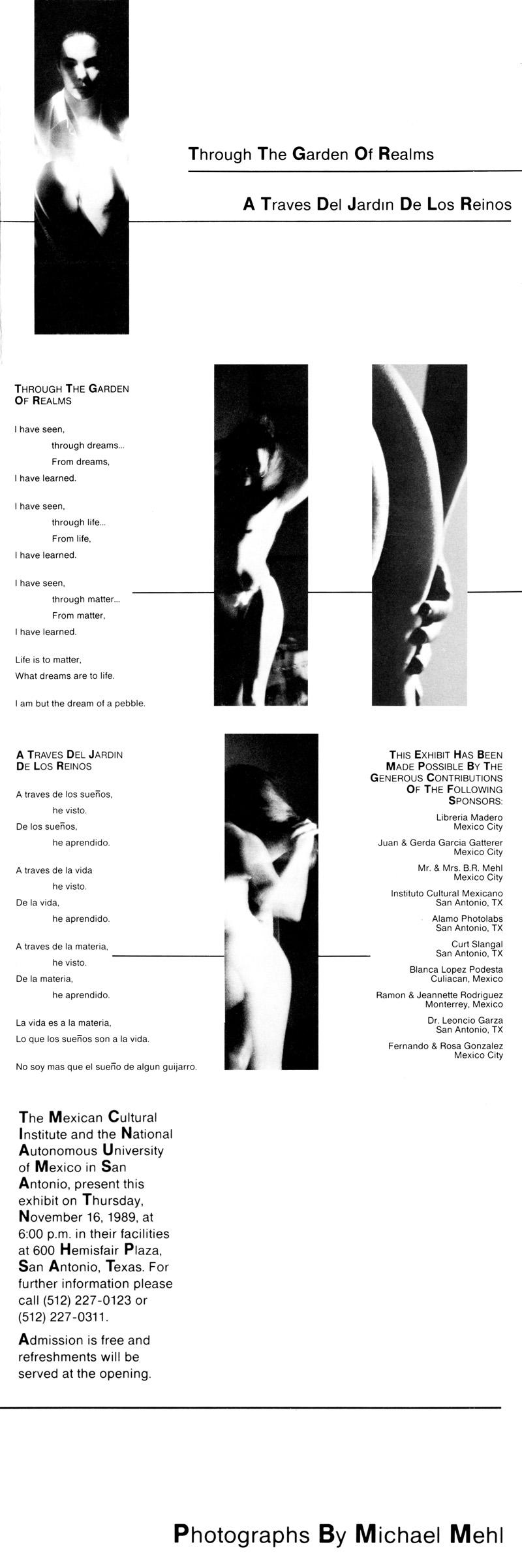 1989_Michael-Mehl_Through-The-Garden-Of-Realms-Exhibit_ICM-UNAM