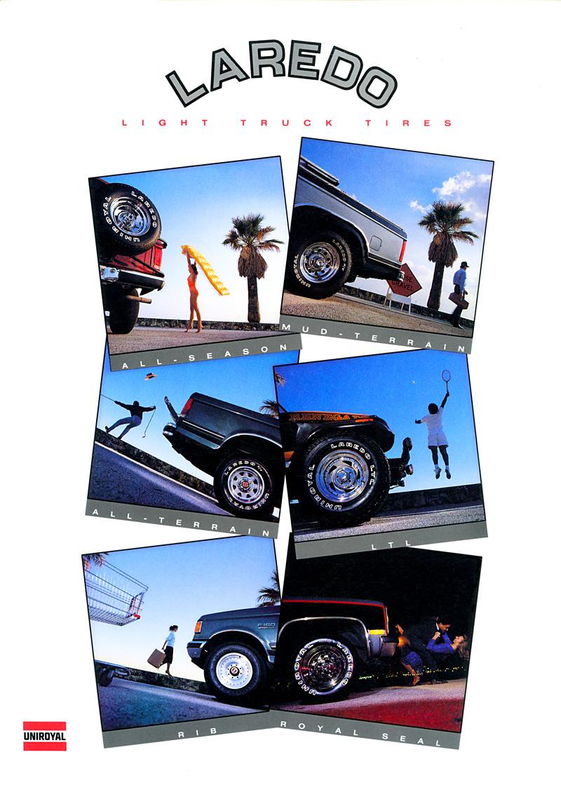 1990_Michael-Mehl_The-Highlight-Zone_Uniroyal-Laredo-Tires_Catalog-Cover