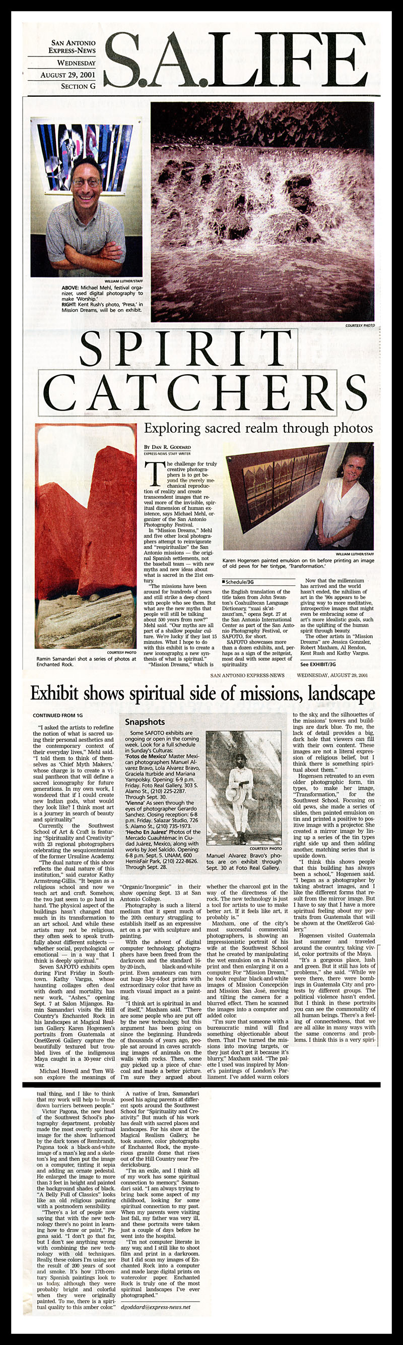 2001_Michael-Mehl_Spirit-Catchers_SAFOTO_San-Antonio-Express-News