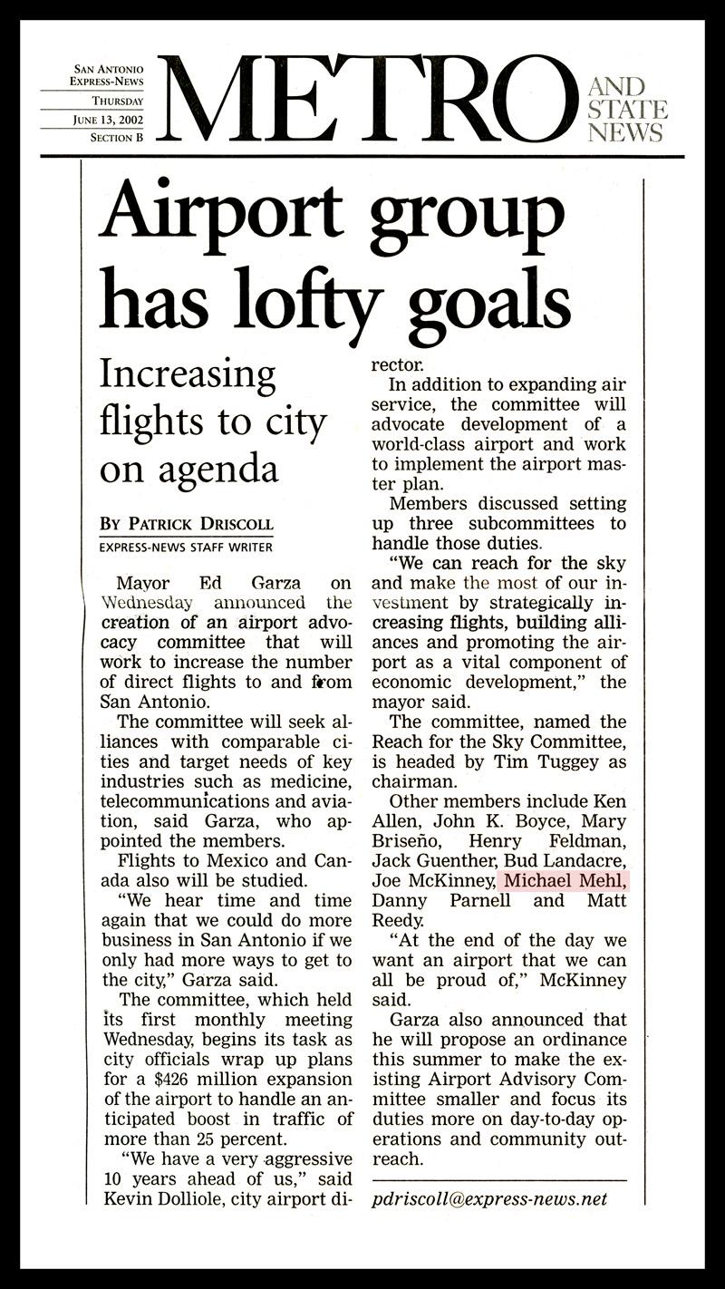 2002_Michael-Mehl_Airport-Advisory-Committee_San-Antonio-Express-News