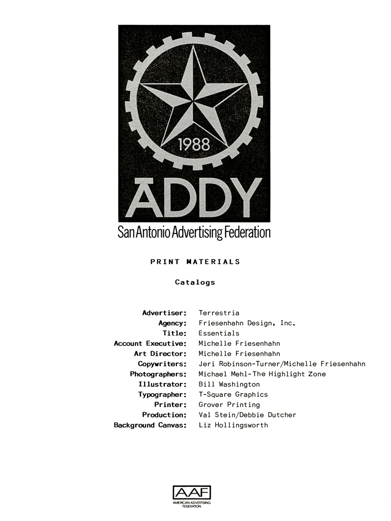 1988_Michael-Mehl_The-Highlight-Zone_ADDY-Award_Print-Catalog