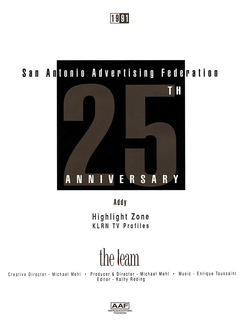 1991_Michael-Mehl_The-Highlight-Zone_ADDY-Award_KLRN-TV-Profiles