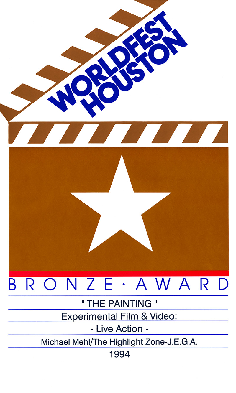 1994_Michael-Mehl_WorldFest-Houston_The-Painting_Experimental-Video-Bronze-Award-Certificate