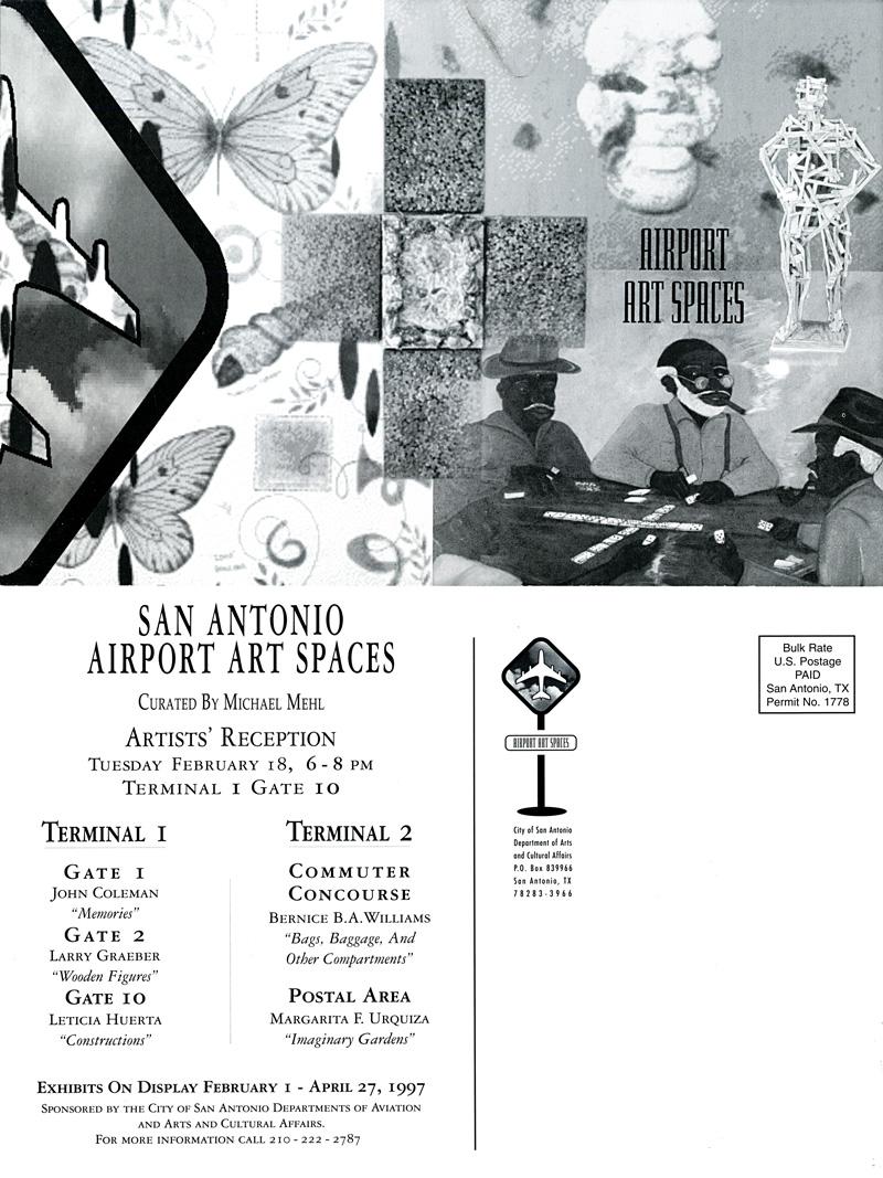 1997_Michael-Mehl_Curator_Group-Exhibit_Airport-Art-Spaces