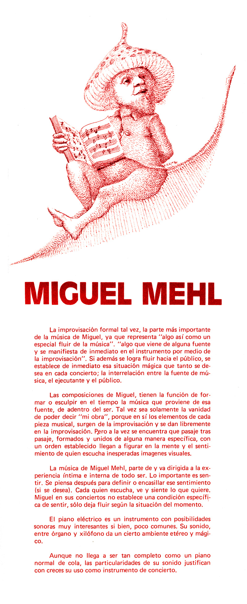 1980_Michael-Mehl_Piano-Concert-Promotional-Flyer