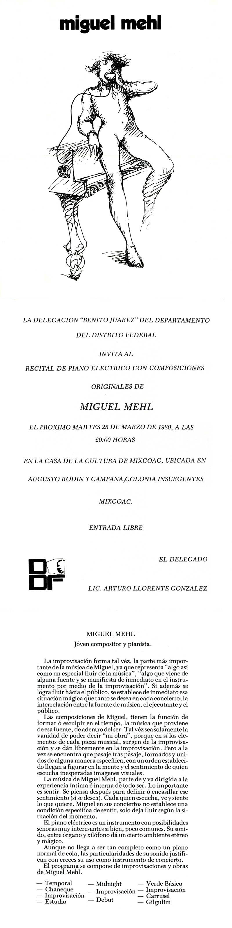 1980_Michael-Mehl_Piano-Concert_Program_Centro-Cultural-Mixcoac_Mexico-City