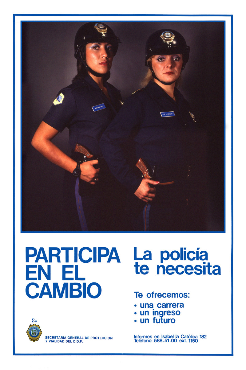 1983_Michael-Mehl_Mexico-City-Police-Recruitment-Campaign_02