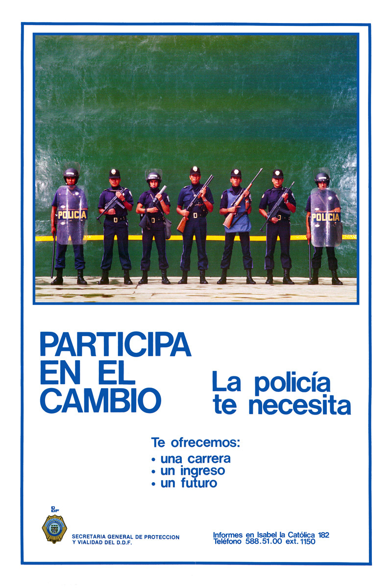 1983_Michael-Mehl_Mexico-City-Police-Recruitment-Campaign_05